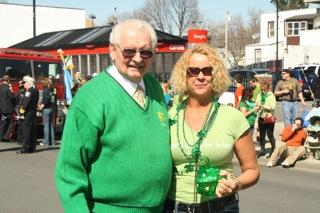 Brian and his daughter at the Parade.