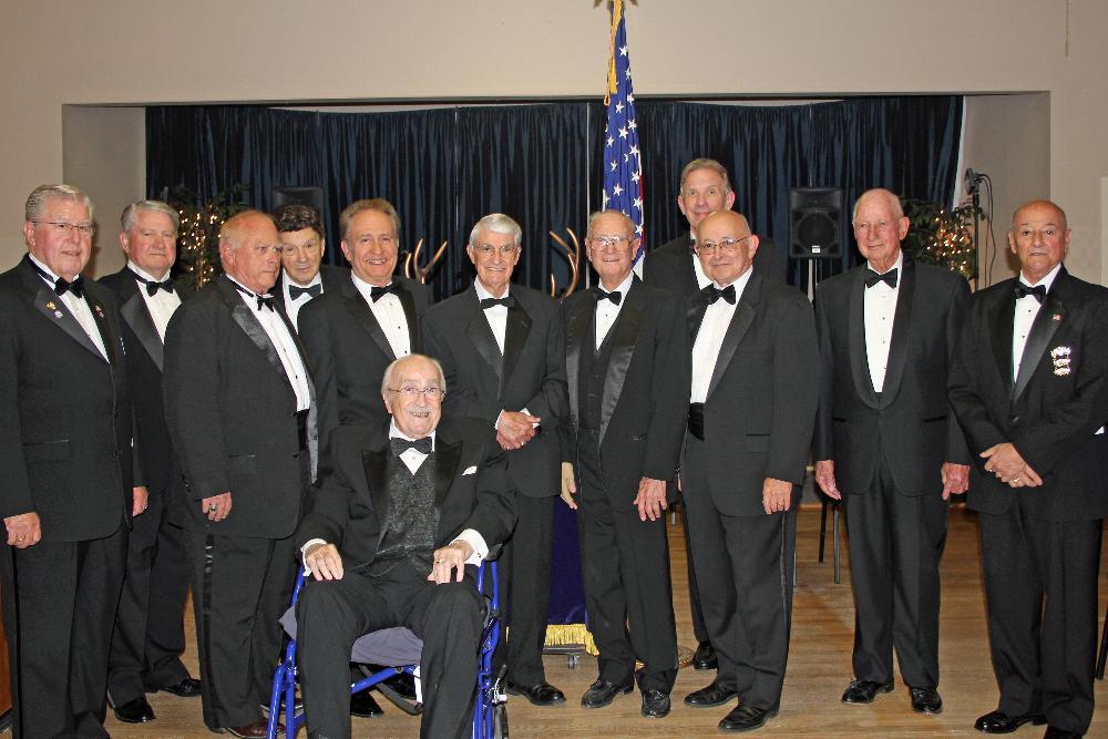 PERs Left to Right, Bob Mullin, Hinton Wells, Tom Rezner, Joe Andrei, John Harris, Remo Silvastrini, Dan Vossman, Bob Amy, Jim Sykes, Don Moccio (Bob Jones seated in front.