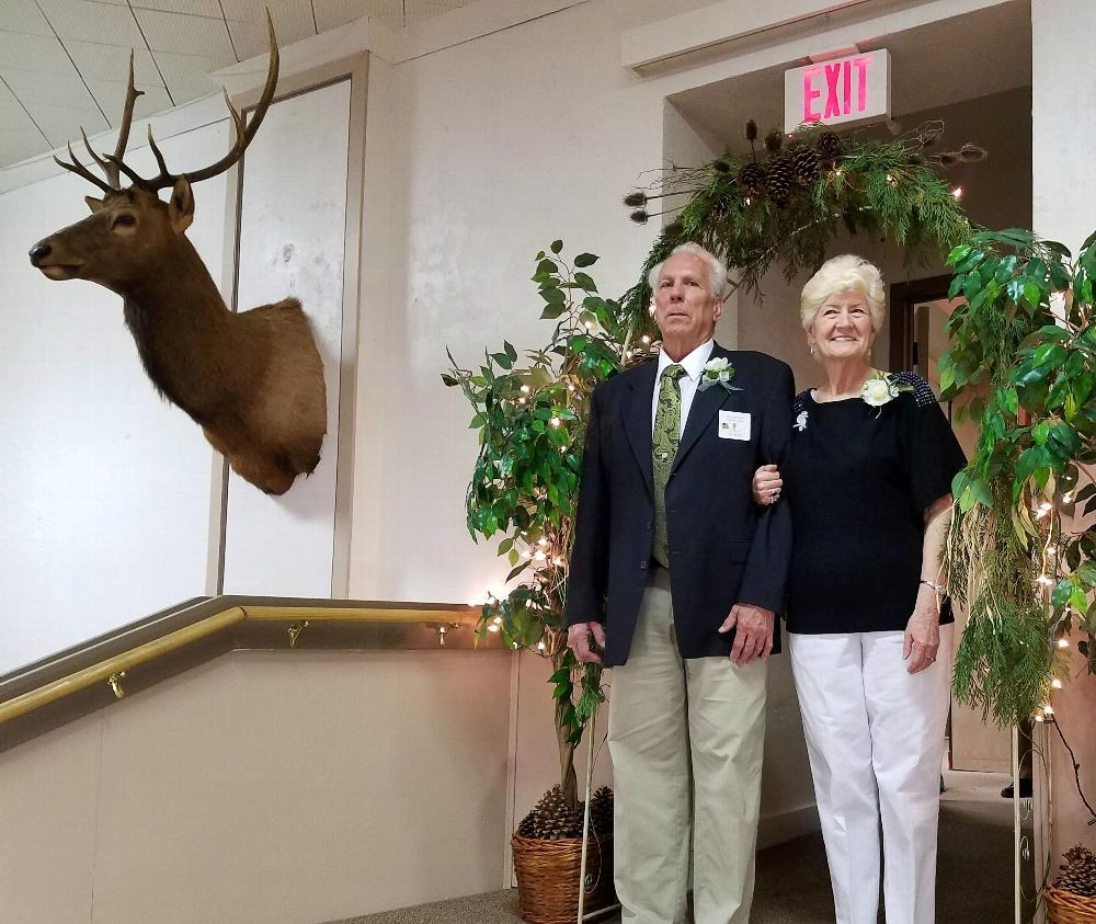 Trustee Tom Medler and wife Tina