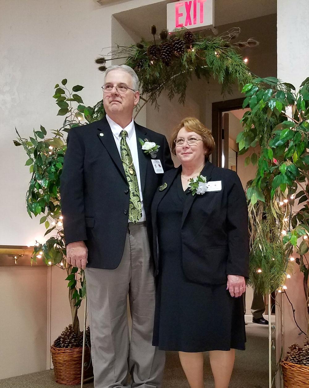 Leading Knight Randi Kobernick and wife Trustee Doris Kobernick