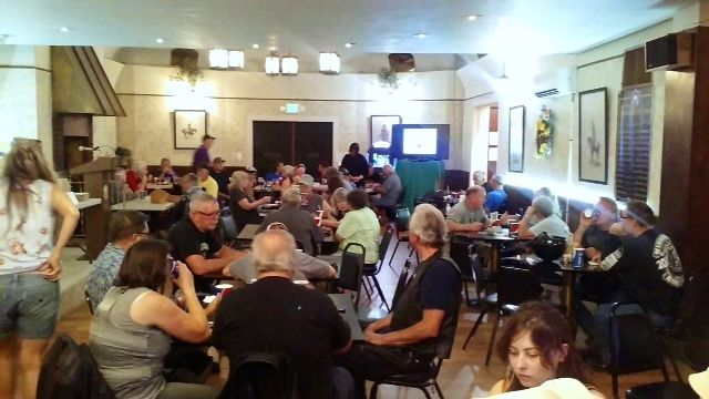 poker run crowd
