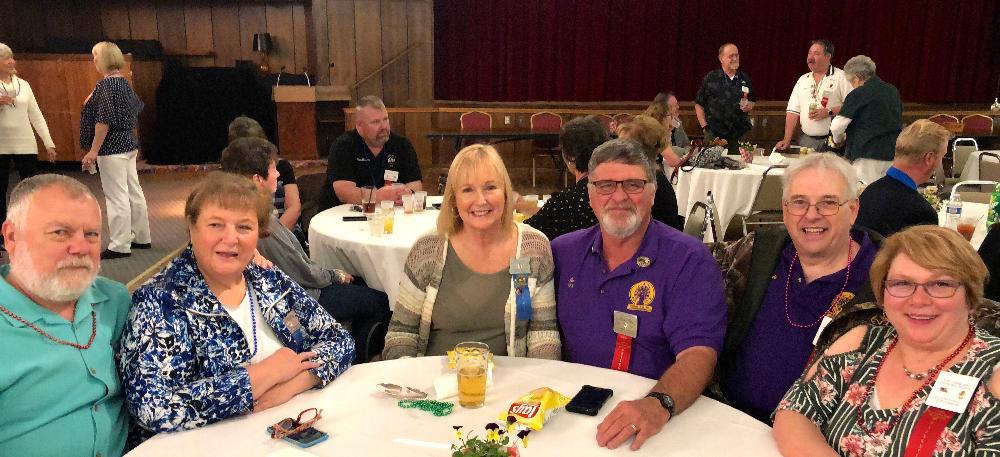 state convention attendees:  Steve & Joy Malone, Judy & Joel Buoy, and Randi & Doris Kobernik