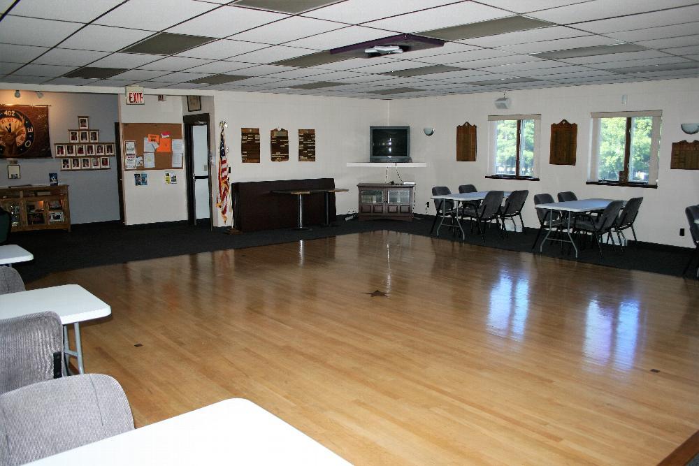 Main Floor Lodge room