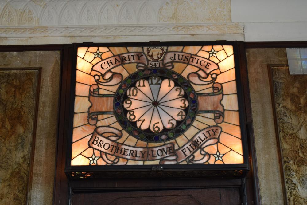 The Lodge Room Clock