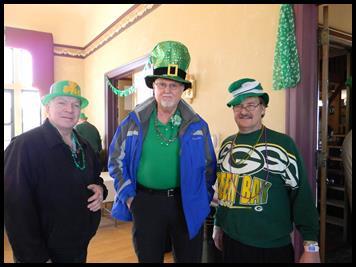 St. Patrick Day revelers