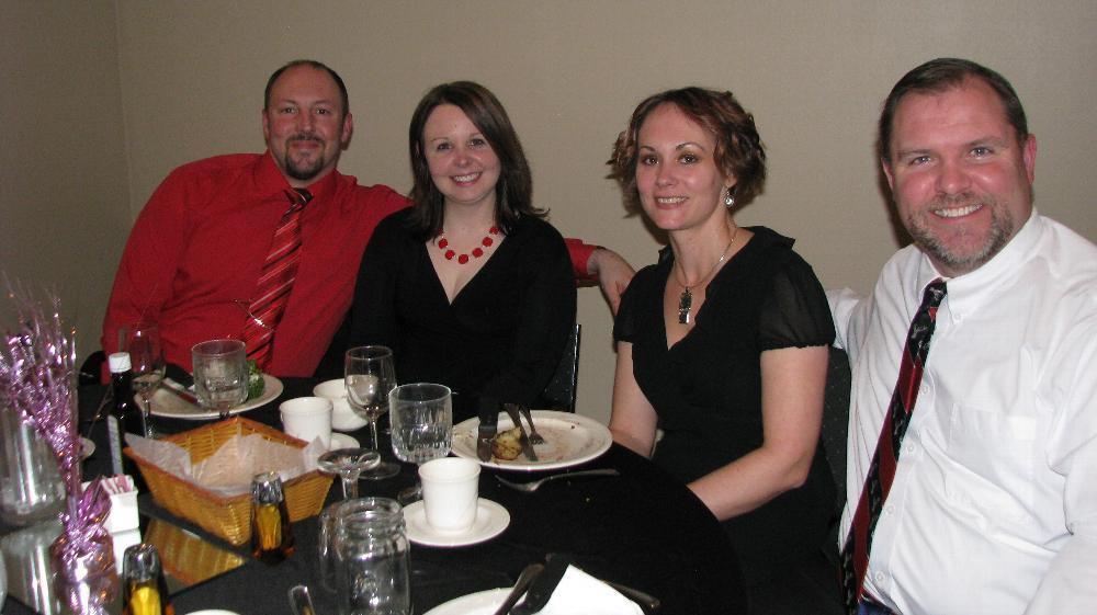 Dan & Jen Jackson, Laura & Kyle Cronan