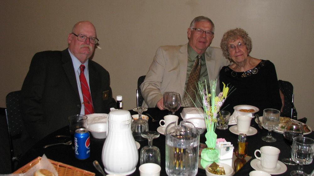 Dan Bailey, Mike & Lynn Swanson