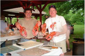Lobsterfest Prep By Jim & Mike