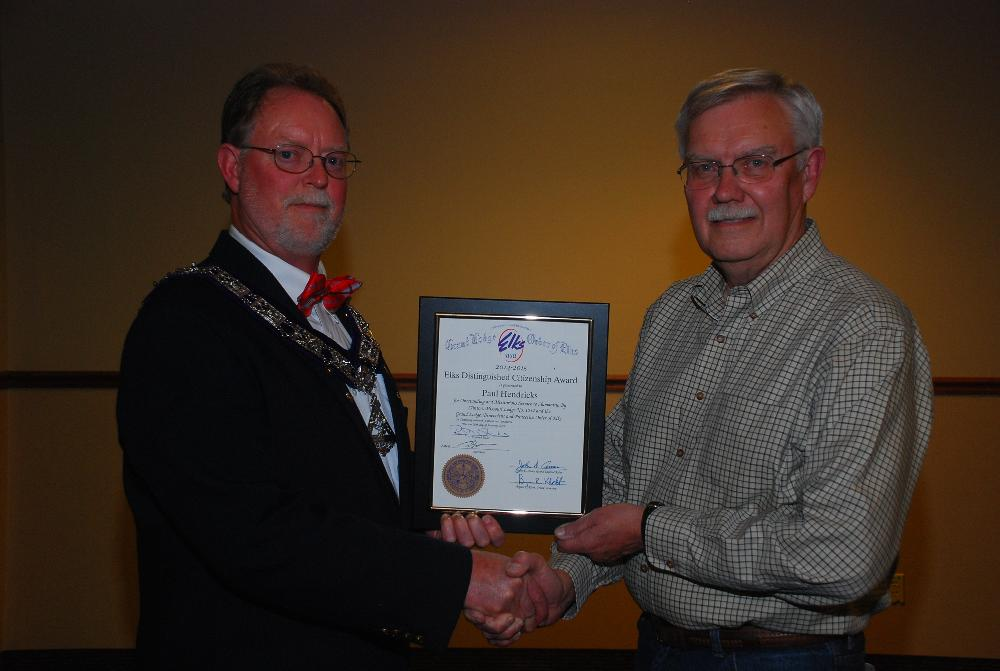 2015 Citizen of the Year Paul Hendricks