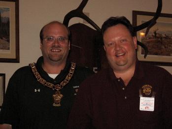 Bemidji Elks Lodge is proud to have Keith Marek become the 2007 District Deputy. Congratulations!