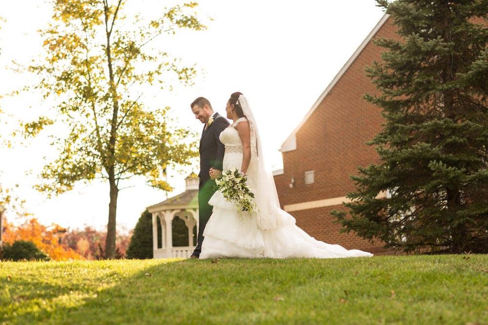 Outdoor patio & garden for weddings and events
