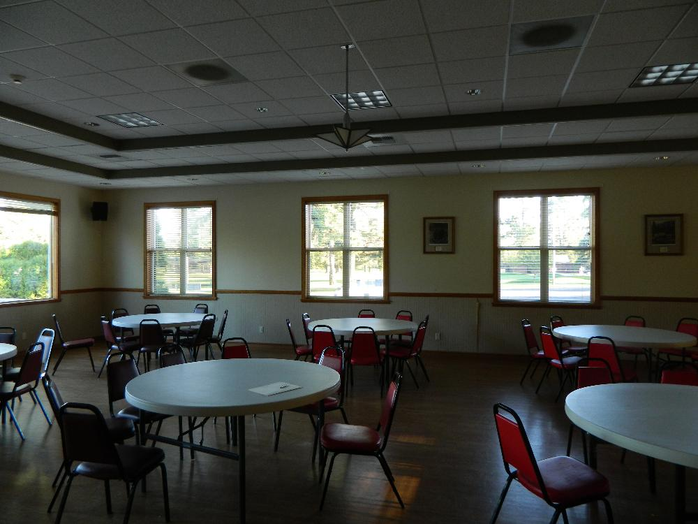 Lodge room south east corner