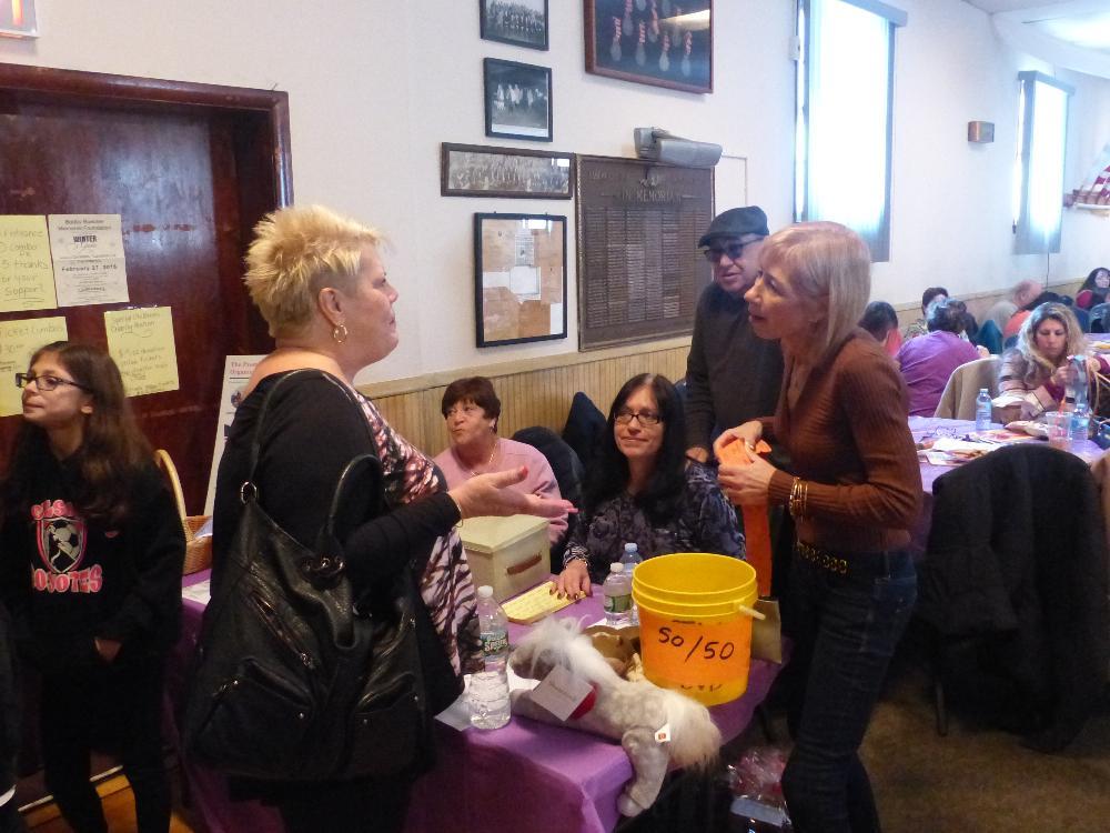 We have great volunteers! - Special Children's Auction 2016