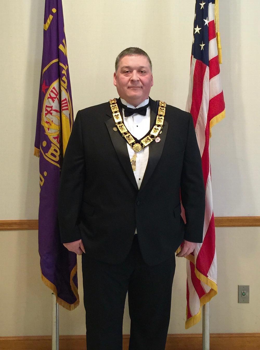 Exalted Ruler Chuck Sears 2016 - 2017