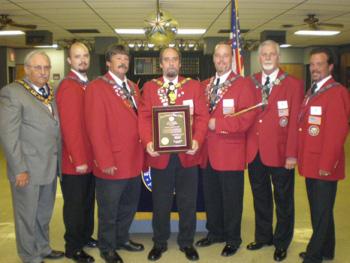 Okmulgee Ritual Team 2008-2009
