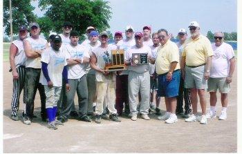State Champion Softball Team. 1822 Elks