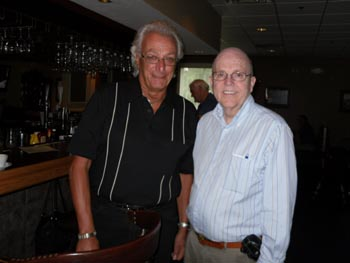 Joe with John Schaefer - ER at Ocala Lodge