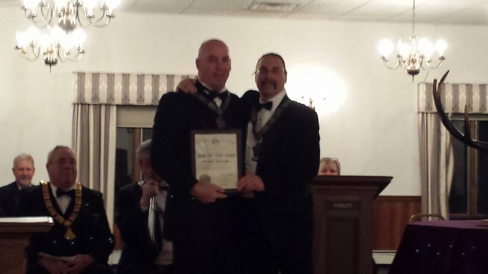 Congrats to Elk of the Year Tony!