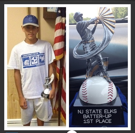 Adam Slawinski - State Batter Up Champ!  (posted with the permission of the Slawinski family)