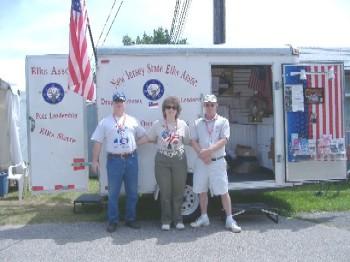 Morgan Woods, DD Julie Ann Taylor Woods, ER Tim Doyle at the fair.
