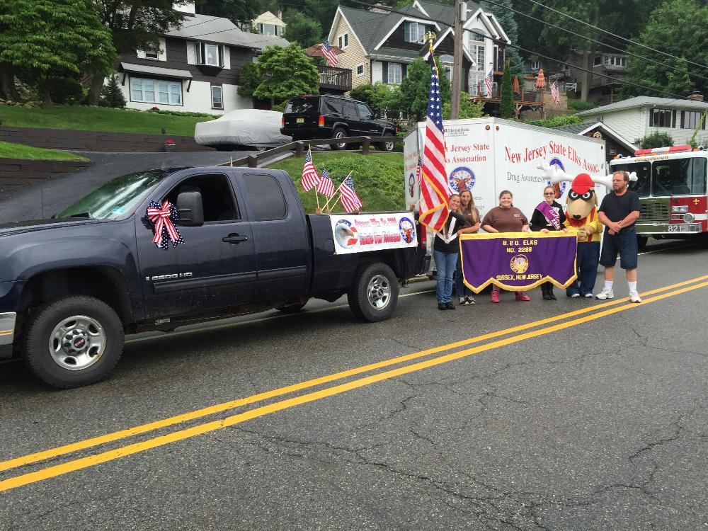 Sparta 4th of July Parade  2015