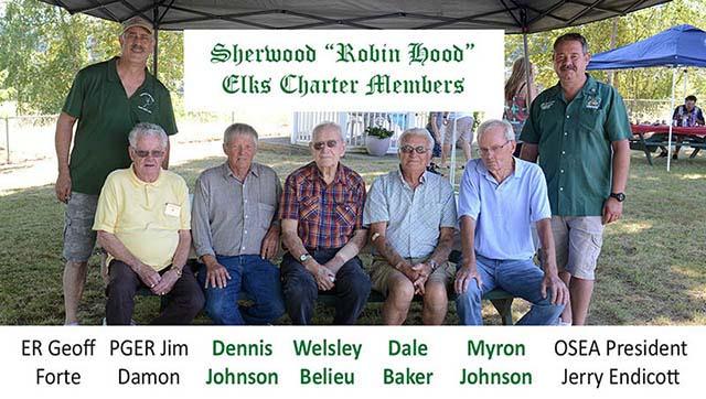 50th Anniversary Charter Members attend picnic celebration