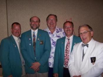 Tom Gowan, Mark Sedore, SVP Donald Williams, Chris maddox, PSP Rick Wunder West Central District