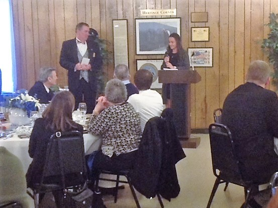 Alexandra N. Schepers awarded the Grover Duvall Legacy Award