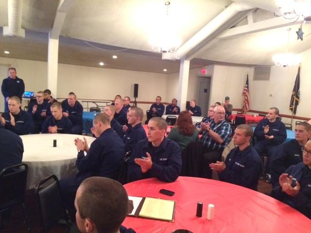 Coast Guard Thanksgiving Dinner 2014